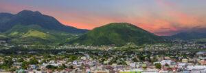 Sunset Beyond St Kitts