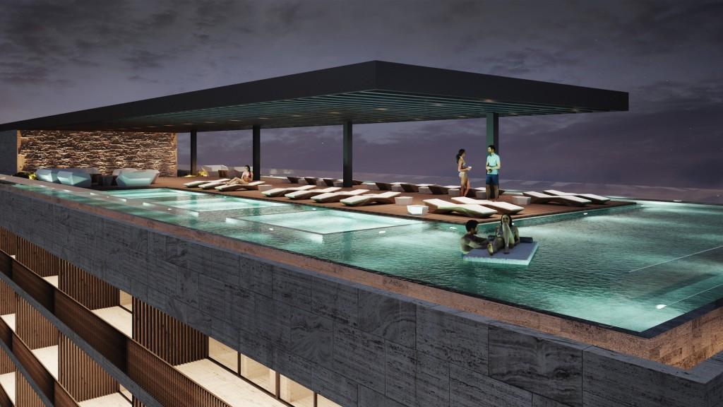 Dreams Vista Cancun Rooftop Pool