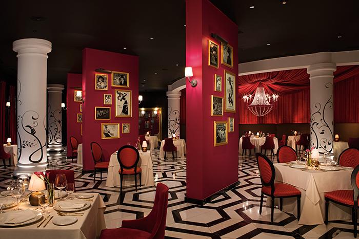 secrets akumal restaurants