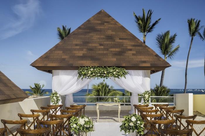 Dreams Royal Beach Wedding Gazebo