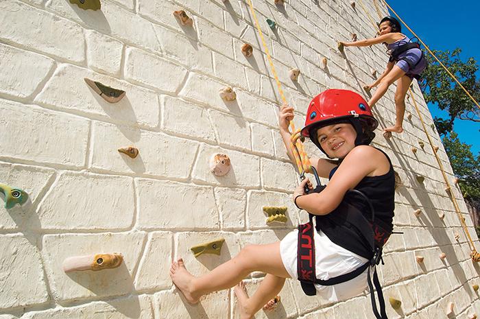 Dreams Tulum Rock Climbing